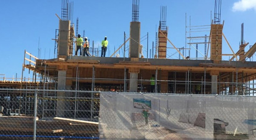 Construction to lead local economic recovery